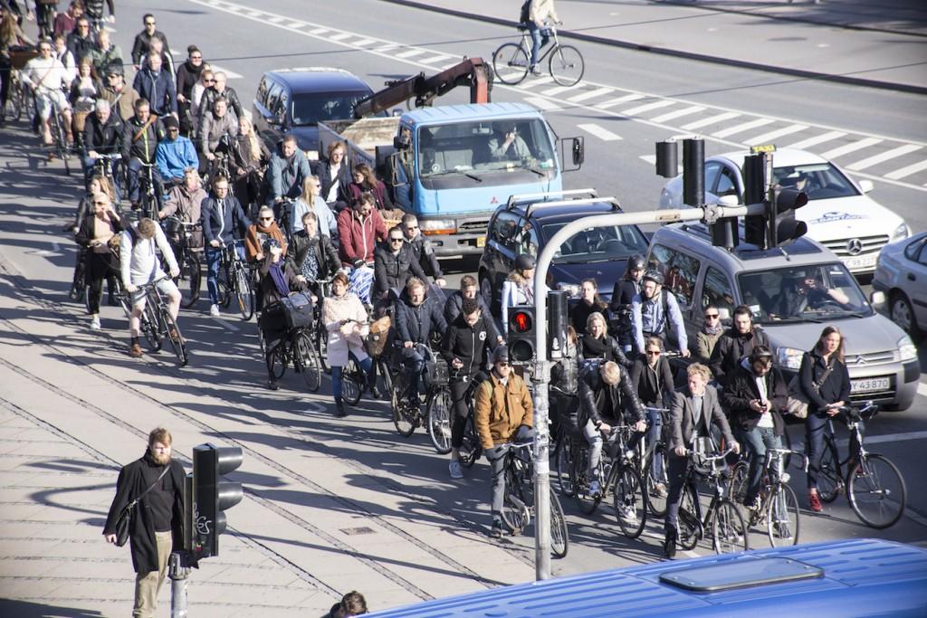 Köpenhamn är en av städerna som valt cykelvägen. En lottovinst, visar undersökningarna.