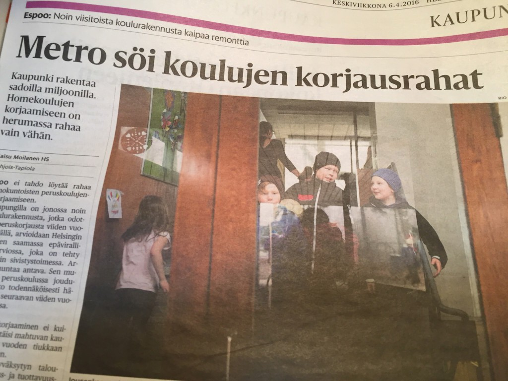 Helsingin Sanomat 6.4.2016